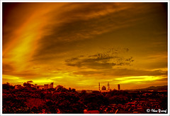 #150/08 Fire in the Sky (Ibnu Yusuf) Tags: sunset red orange yellow gold cool sundown malaysia bluemosque a200 hdr fireinthesky selangor shahalam themoulinrouge firstquality supershot 3exposures sonydslr mywinners abigfave asiseeit platinumphoto anawesomeshot diamondclassphotographer flickrdiamond citrit ibnuyusuf theperfectphotographer thegardenofzen goldstaraward cityofshahalam mysonia