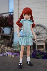 """My little friend💕 :"""") (cute-little-dolls) Tags: ruruko rurukodoll doll miniature penguin toy flowers spring friends kawaii flower garden"""