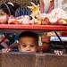 Kid in market - Yangon 2017