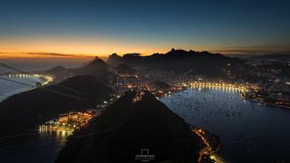 Sunset @Sugar Loaf Mountain, Rio de Janeiro, Brazi