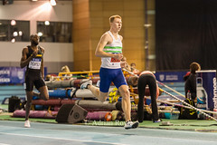 DSC_7255 (Adrian Royle) Tags: sheffield eis sport athletics track field action competition racing running sprinting jumping throwing britishathletics nikon indoor indoorathletics ukindoorathletics 2017