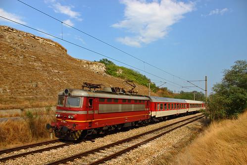 Fast train 9622 Varna - Ruse