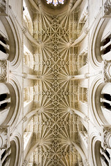 Christ Church Cathedral ceiling (Stringendo) Tags: college church up architecture looking christ cathedral chapel ceiling oxford upward