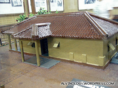 Ghandi's house in the later phase of his life