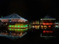 Vesak Celebrations: The Simamalaka Shrine (niOS) Tags: light festival srilanka colombo vesak wesak geoffreybawa beiralake veskha simamalaka