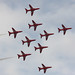 Red Arrows At Southend Air Show May 2011