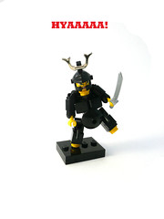 Sammy-rai Suit. (Lego Junkie.) Tags: lego madness hardsuit