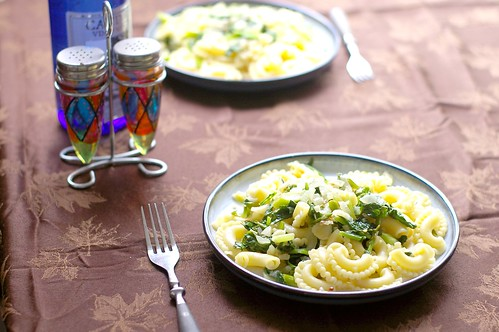 broccoli raab with galleti pasta
