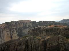 Meteora, Greece (cod_gabriel) Tags: abbey rock rocks greece monastery grecia griechenland grce grece meteora grcia griekenland yunanistan grekland grecja   grkenland hellenicrepublic grgorszg  ecko        yunani
