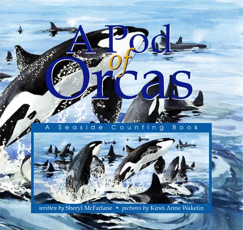 A Pod of Orcas ~ Cover