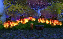 Eversong Practice Fires