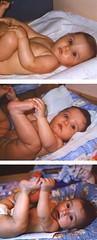 A cinque mesi è d'uopo afferrarsi il piedino