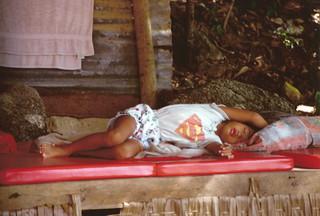 superman is sleeping