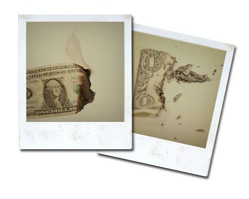 Dolar burning