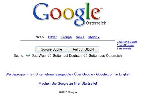 Austria Google