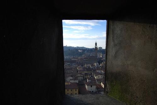 Climbing up Brunelleschi's Dome