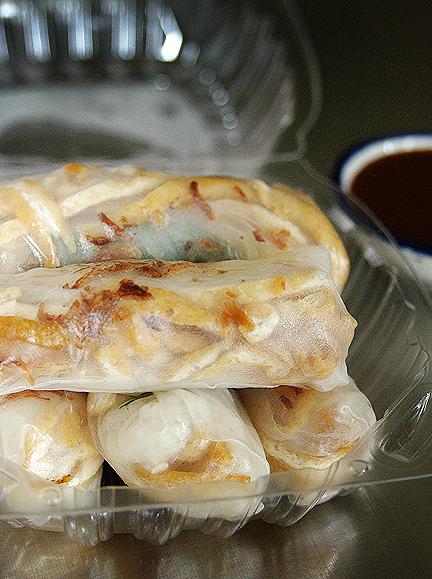 Viet Soy Cafe Jicama Rolls