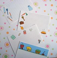 Joyful Abode Recipe Cards (Joyful Abode) Tags: recipe cards etsy joyful abode