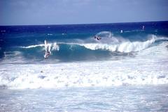 Doubled up (Courtney Nash) Tags: maui windsurfers jenandjaykona