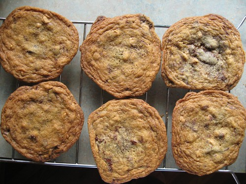 chocolate chunk pb cookies