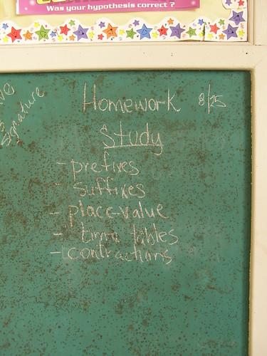 8/25 Homework