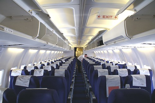 Cabin view 737 - 300