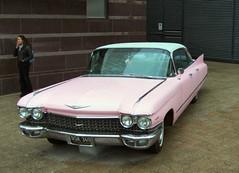 Random pink cadillac