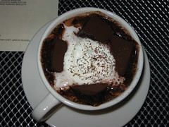 """fully loaded"" hot chocolate at the chocolate bar! (jkenning) Tags: atlanta hotchocolate marshmallows decatur chocolatebar 2007"