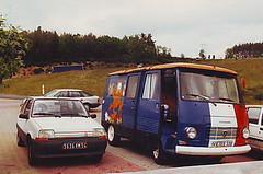 Wohnmobil J 7 (manfredmittler) Tags: de peugeot wohnmobil viaduc garabit j7 campingcar truyere francetour