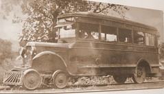 The One & Only Gainesville-Midland RR Bus (Robert Lz) Tags: 1936 wpa tornado oldphotos fdr gainesvillegeorgia robertlz gainesvillemidlandrrbus