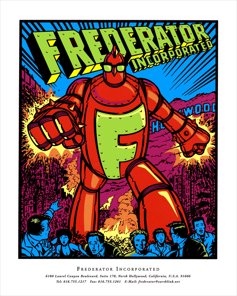Frederator Announcement flyer, January 1997