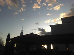 Harvard U. skyline, from the roof of Daedalus