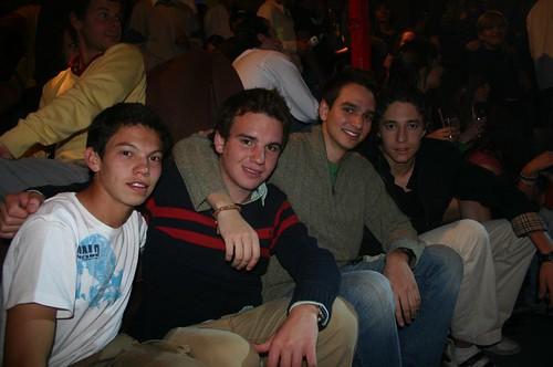 Nolo, Pedro, Edgar y Diego