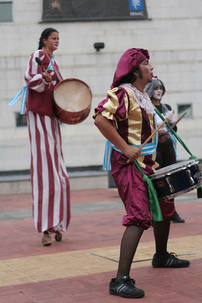 little drummer clowns
