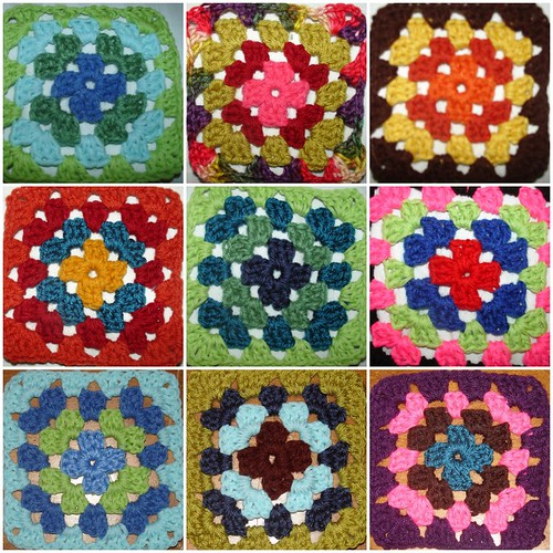 Granny Squares from you