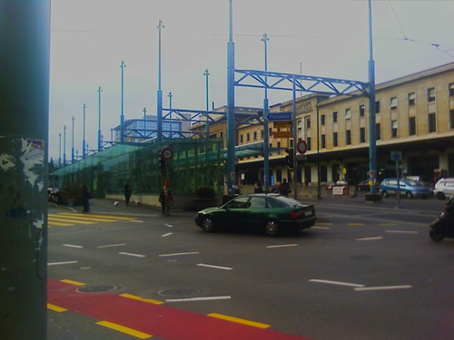 Gare Cornavin, train and tram station at Geneve