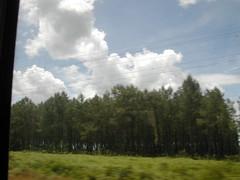 TGV上的晴天