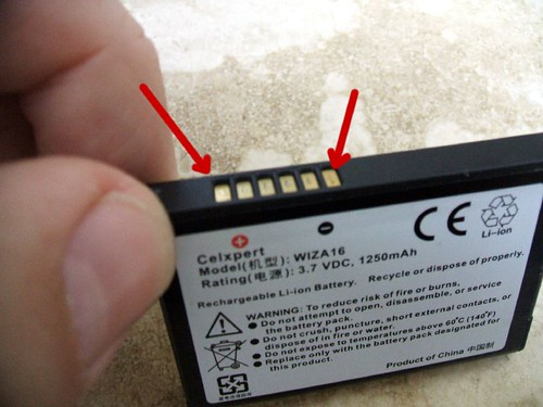Conexiones de la batería.