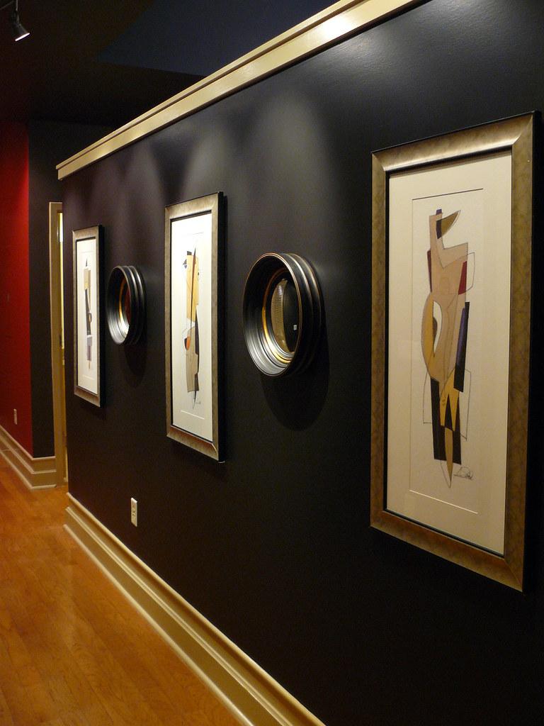 loft gallery wall