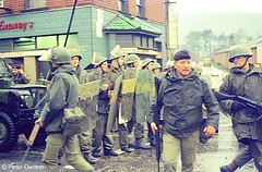 The Troubles (Peter Denton) Tags: ireland history 35mm military politics scanned violence soldiers northernireland analogue 1970s northofireland unrest riots troubles ulster securityforces socialhistory peterdenton