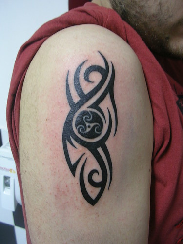 tribal tattoo cool circle