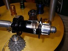 Chris King innards (audetteadam) Tags: bicycles gears hubs chrisking framebuilding handmadebicycleshow nahbs2008 hubsets