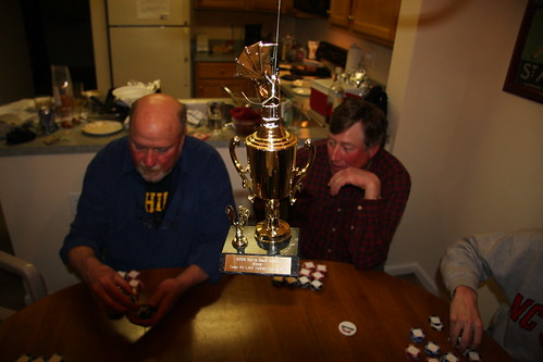 Hanging Poker Trophy