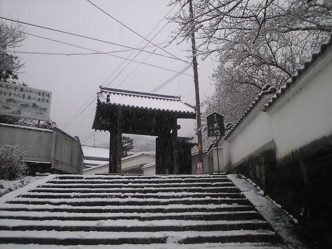 当麻寺(雪景色)-01