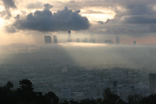 Los Angeles in Clouds
