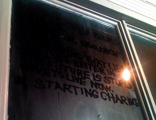 Window Art at Deitch Projects