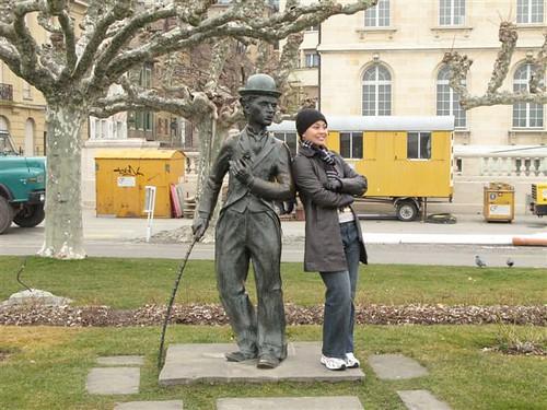 Charlie Chaplin in Vevey