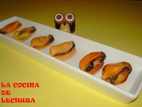 Mejillones sin concha+