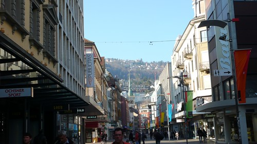 Main shopping street, Biel
