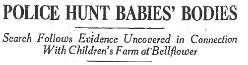 baby farm headline